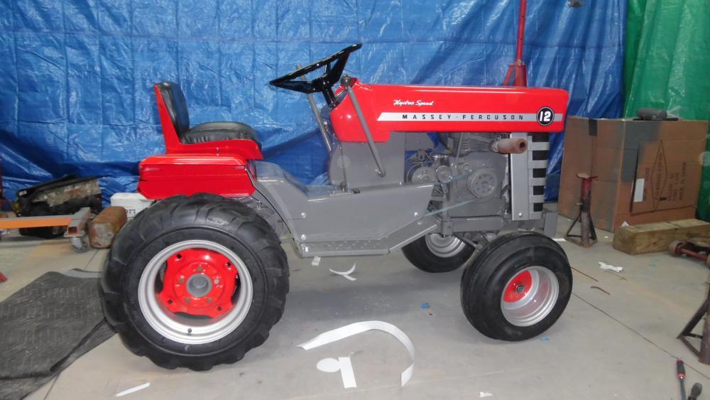Massey Ferguson 12 cam link rod help - Massey, Snapper, AMF Tractor ...