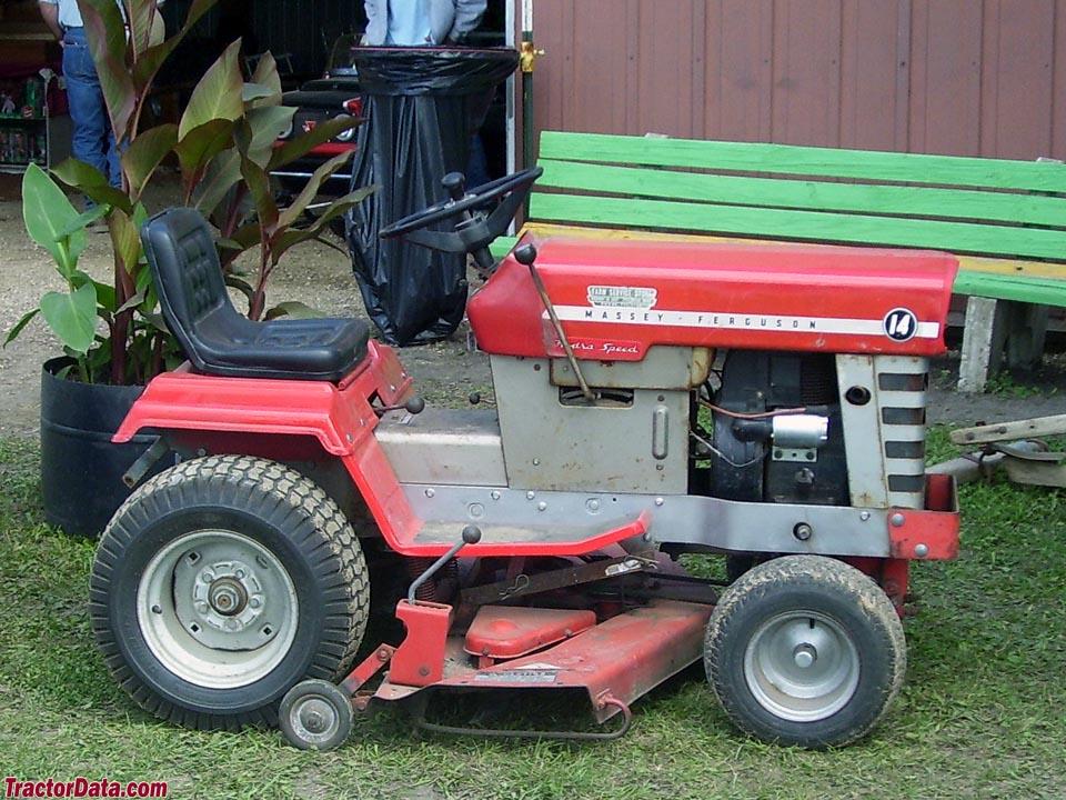 TractorData.com Massey Ferguson 14 tractor photos information