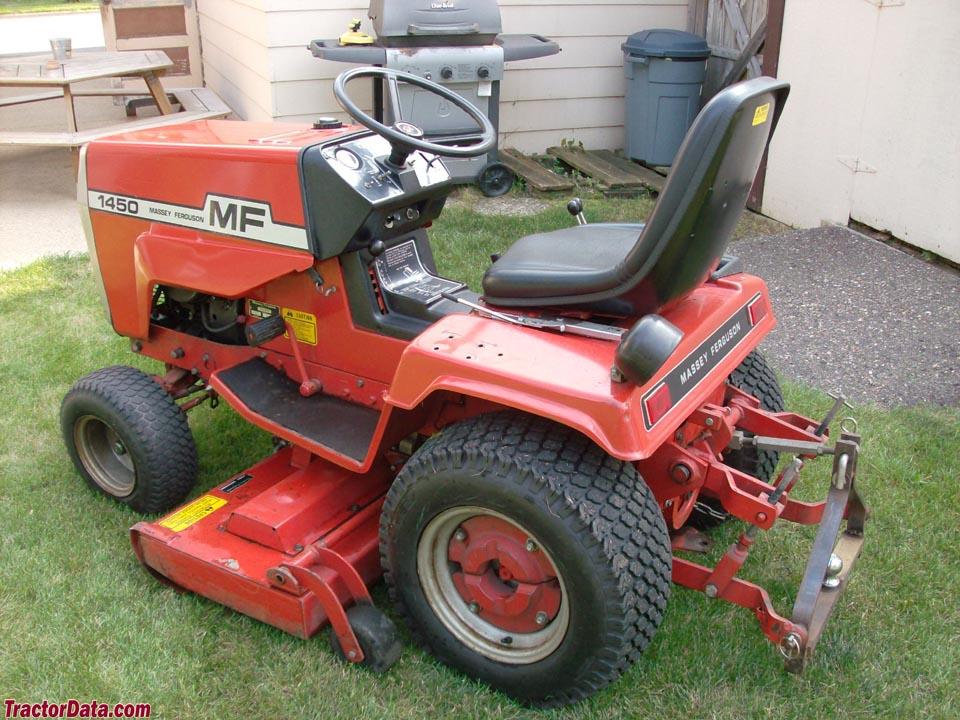 TractorData.com Massey Ferguson 1450 tractor photos information