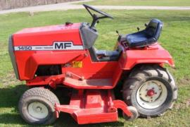 Ship a Massey Ferguson 1450 lawn tractor to Ten Mile