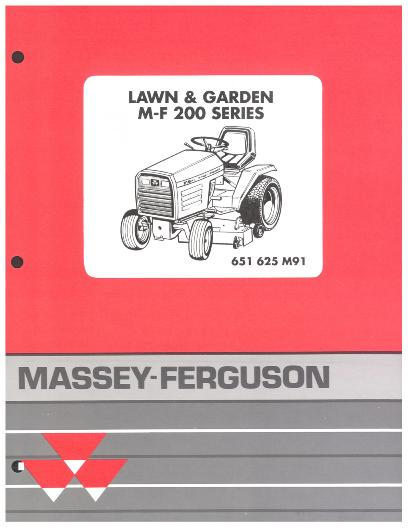 AGCO Technical Publications: Massey Ferguson Grounds Maintenance-Lawn ...