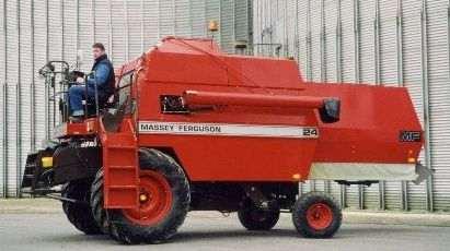 Massey Ferguson 24 combine - Tractor & Construction Plant Wiki - The ...
