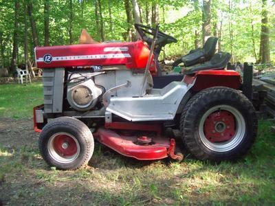 Used Massey Ferguson Lawn Tractors Massey Ferguson mf 12 Lawn