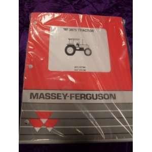 Massey Ferguson 3075 Tractor OEM Parts Manual Massey Ferguson Books