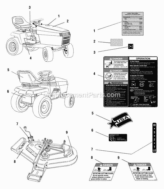 Simplicity 1692786 Parts List and Diagram : eReplacementParts.com