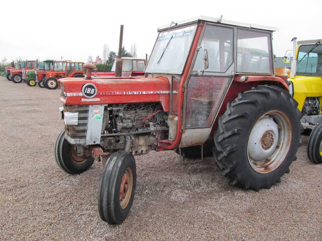 Massey Ferguson 188 - Year: 1972 - Tractors - ID: A54CC9E6 - Mascus ...