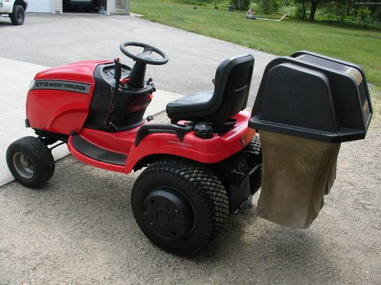 2003 Massey - Ferguson 2718 Lawn & Garden and Commercial Mowing - John ...