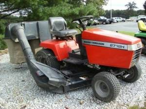 Lawn Mower Tractor Simplicity/ Massey Ferguson 2718H - (Annapolis) for ...