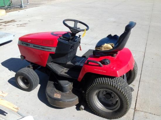 Photos of 2002 Massey Ferguson 2718H Riding Mower For Sale ...