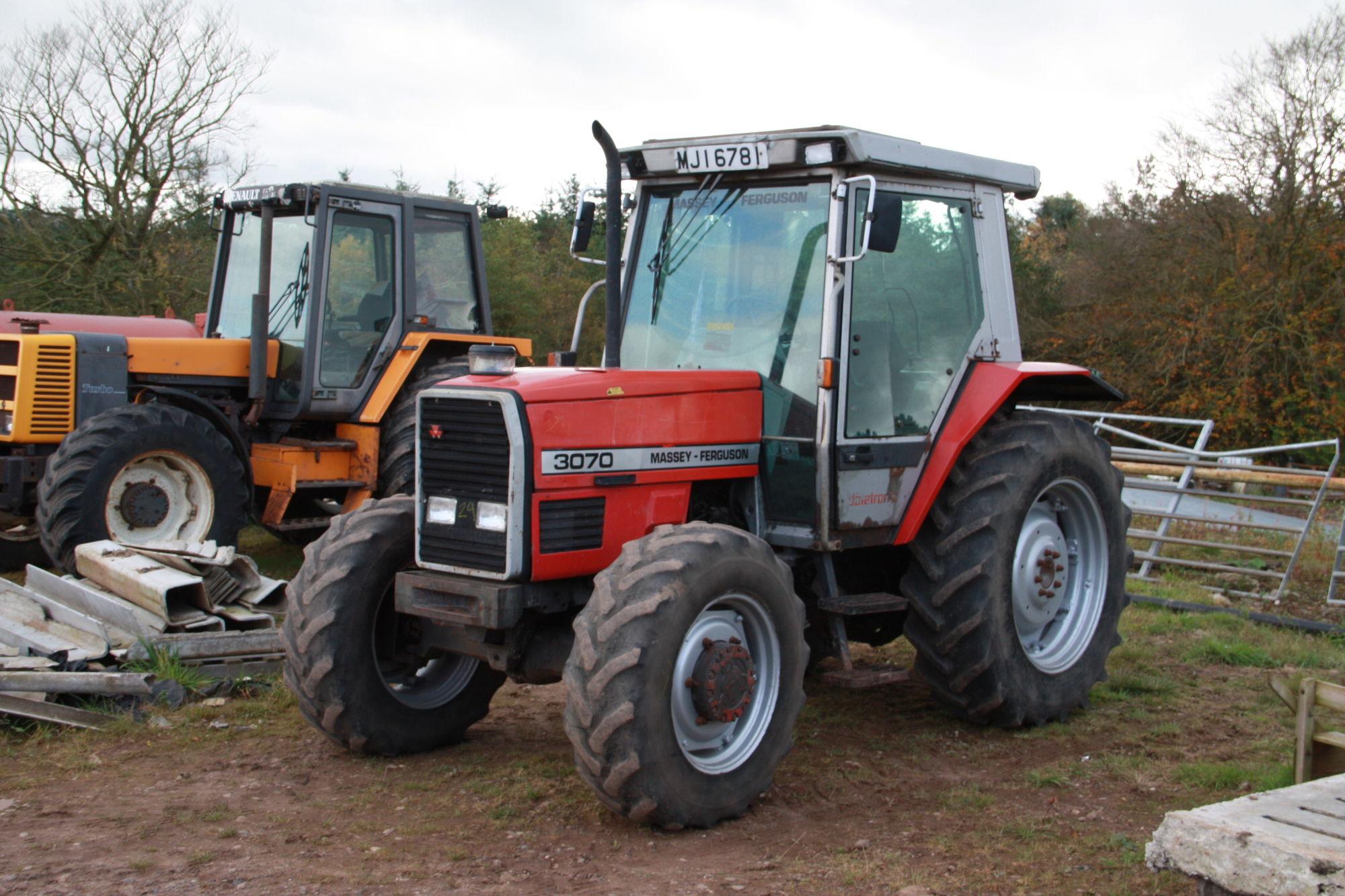 Massey Ferguson 3070 | Tractor & Construction Plant Wiki | Fandom ...