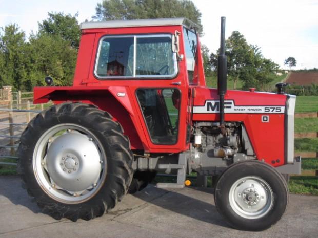 Massey Ferguson 575, 1981, 2,722 hrs | Parris Tractors Ltd