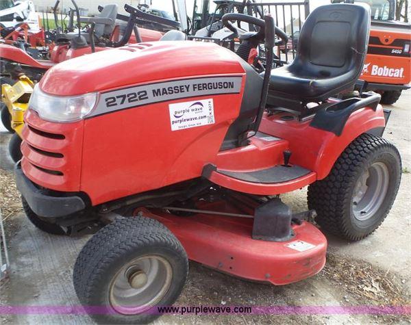 Purchase Massey Ferguson 2722 lawn mowers, Bid & Buy on Auction ...