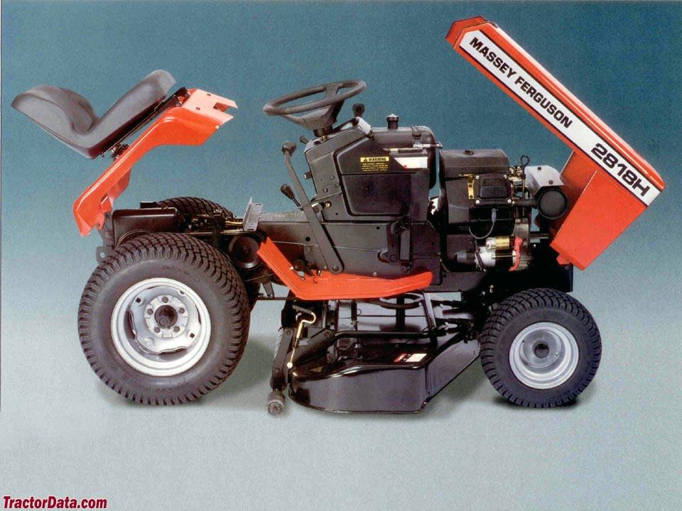 TractorData.com Massey Ferguson 2818H tractor photos information