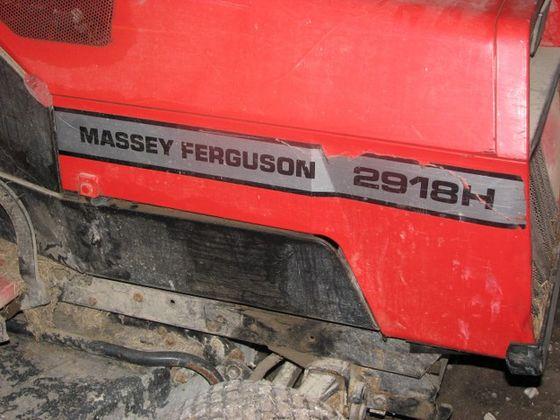 Massey Ferguson 2918H Garden Tractor - Massey, Snapper, AMF Tractor ...