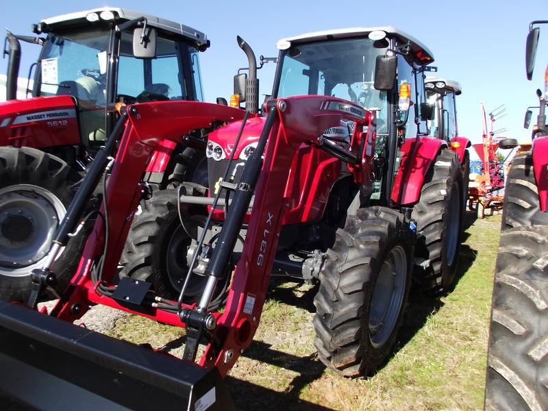 2017 Massey-Ferguson 4609M Tractor GEORGIA DEER FARM ROOPVILLE Georgia ...