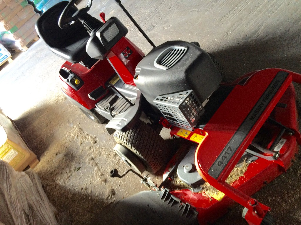 Used Massey Ferguson 4417 lawn mowers Price: $2,110 for sale - Mascus ...