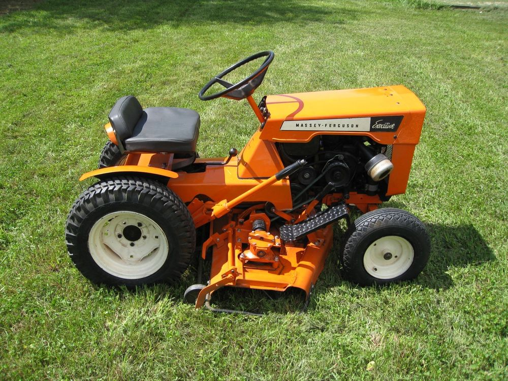 1966 Massey Ferguson Executive MF-8E garden tractor / mower | eBay