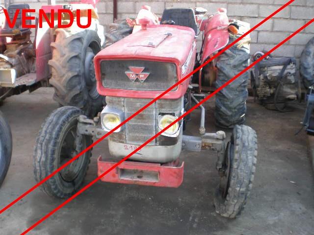 ... PIECES AGRICOLE - Valréas Tracteur Massey Ferguson 152-8E // VENDU