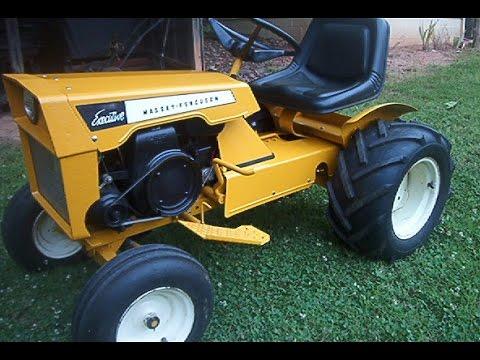 Massey Ferguson Executive 8E Tractor For Sale - YouTube