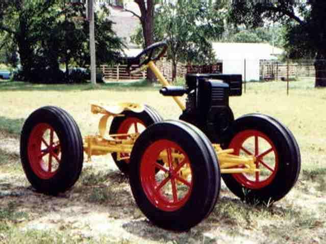 Lawn & Garden Tractors Collector Larry Morrison