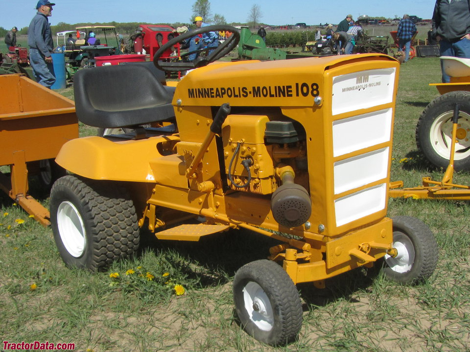 TractorData.com Minneapolis-Moline Town & Country 107 tractor photos ...