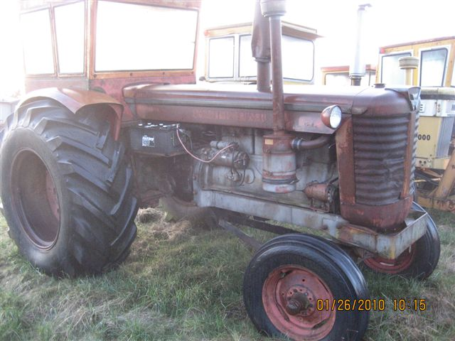 ... Minneapolis Moline and was a G-706. Tractor runs very good. Rubber is