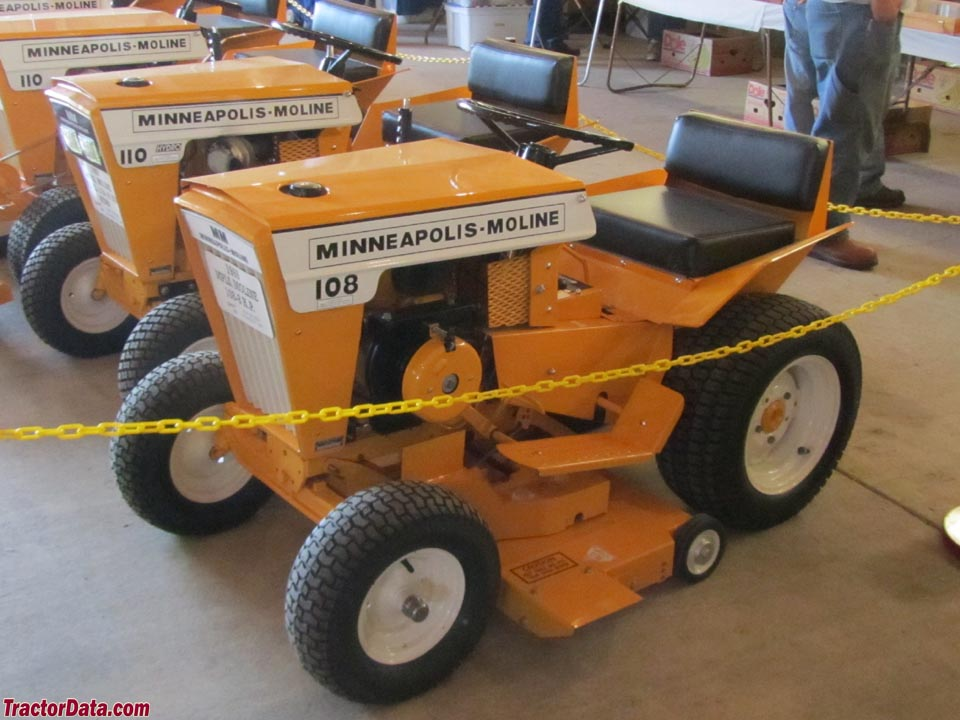 TractorData.com Minneapolis-Moline Town & Country 108 tractor photos ...