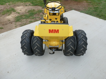 Vintage Minneapolis Moline 110 Hydro Garden Tractor Kohler Images ...