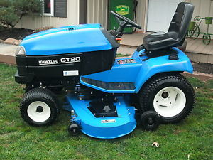 FORD-NEW-HOLLAND-GT20-HEAVY-DUTY-GARDEN-TRACTOR-60-DECK-20HP-550-HOURS ...