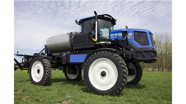 New Holland launches Model Year 2016 rear boom sprayers