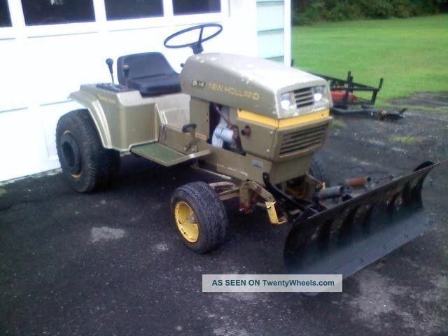 Holland S14 Sperry Rand Garden Tractor 14hp Kohler Ariens Tractors ...