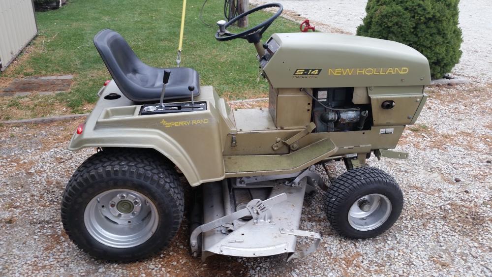 My S-14 made TractorData.com! - Ariens Tractor Forum - GTtalk