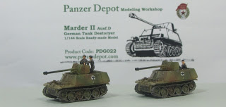 Kampfgruppe 1/144: 1/144 Marder II ausf D SdKfz.132 76.2mm Pak