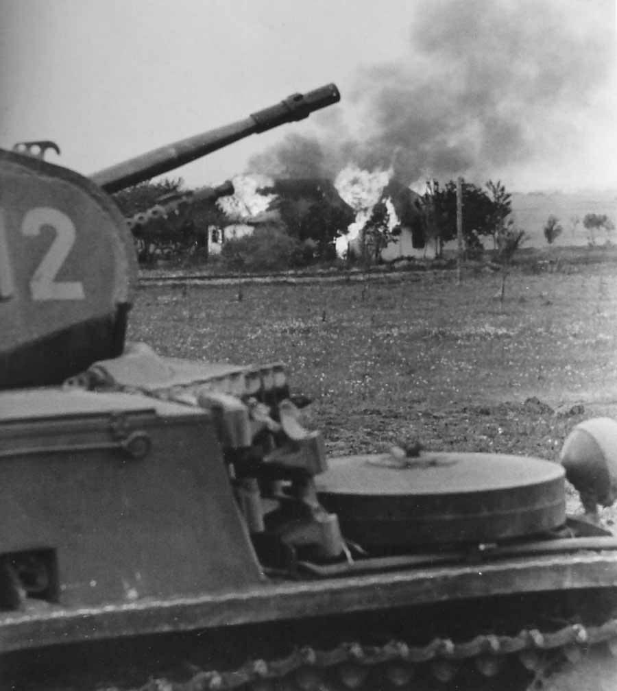 Panzer II tank in action | World War Photos