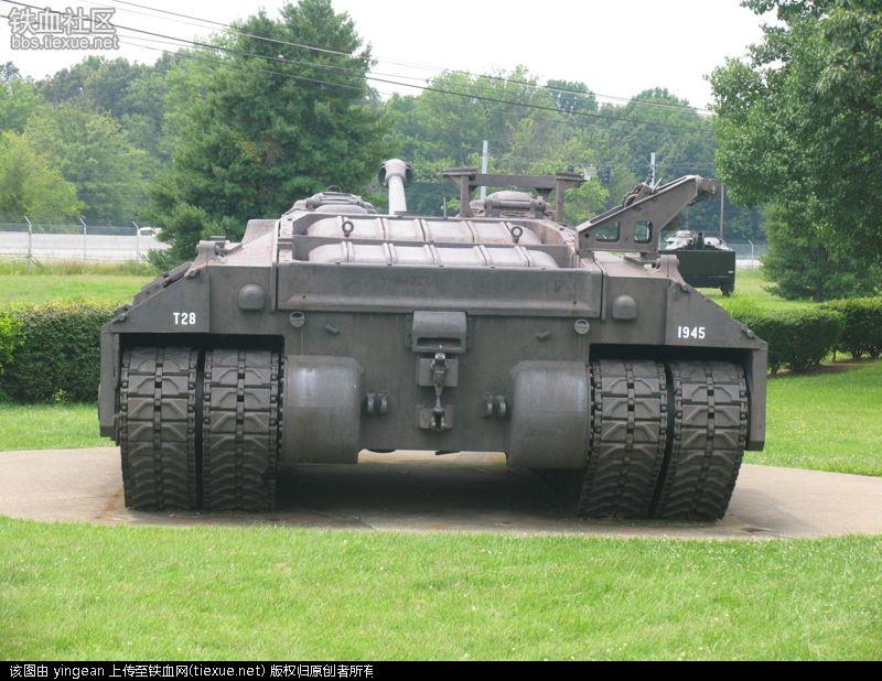 重量近百吨的超级坦克(实验坦克T-28) – 铁血网
