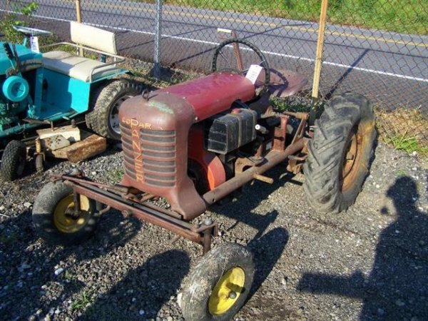 Pennsylvania Copar Panzer T220 Antique Lawn and Garden Tractor, Wide ...