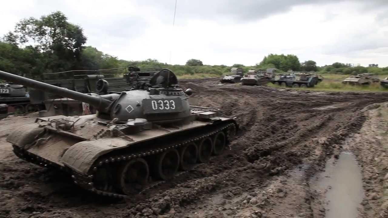 Jazda czołgiem T55 w Kołobrzegu / Riding in the tank T55 in Poland ...