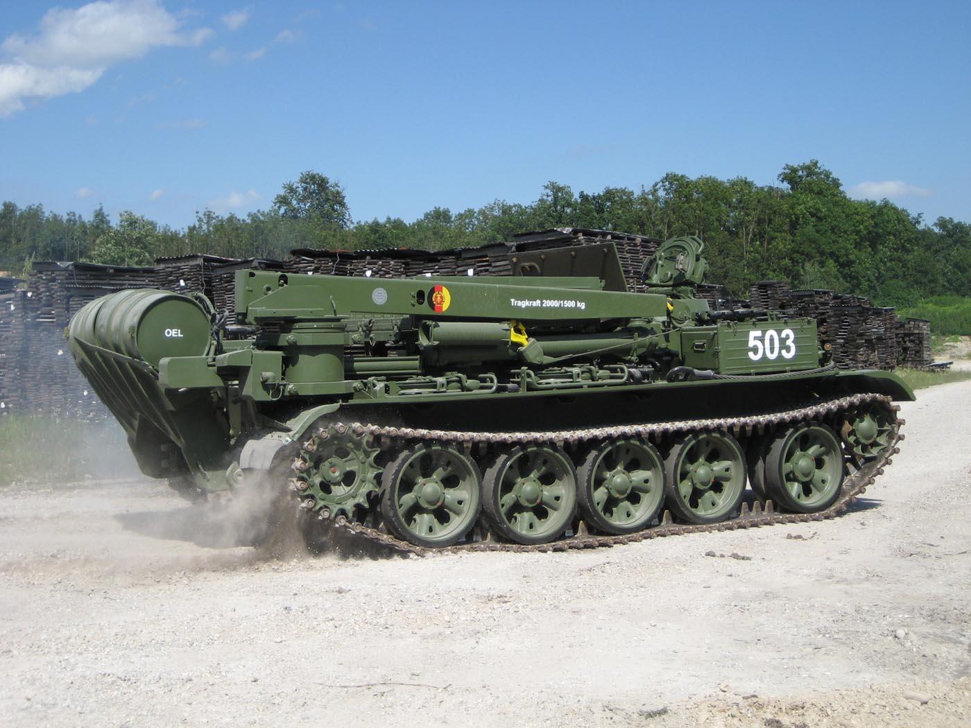 Startseite » Fahrzeuge » Verkauft » T 55 T Bergepanzer VERKAUFT