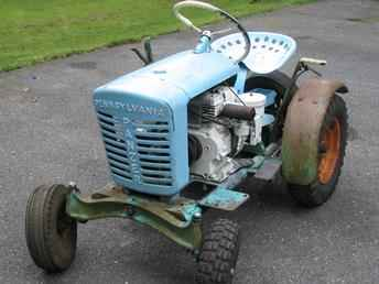 Original Ad: panzer tractor model t75 runs and drives-sold as is-would ...