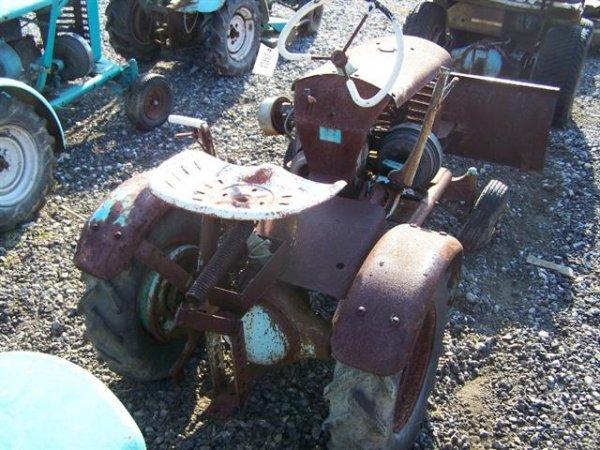 2152: Pennsylvania Panzer T75 Lawn & Garden Tractor : Lot 2152