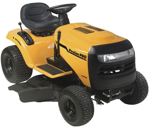 NO One MAD About Poulan Pro PB17542LT 17.5 HP 6-Speed Lawn Tractor, 42 ...