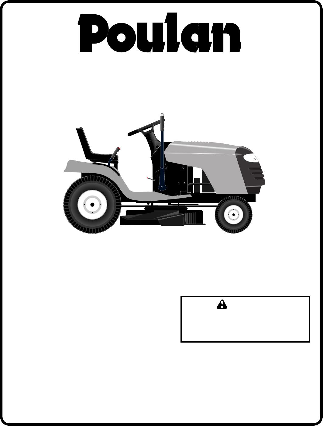Poulan PB1842LT Lawn Mower User Manual