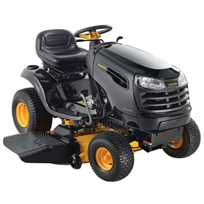Poulan PRO PB18VA46 46 in. 18-HP Hydrostatic Gas Front-Engine Lawn ...