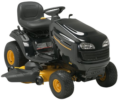 Poulan Pro 46-Inch 19.5 HP Riding Lawn Tractor (CA Compliant) # ...
