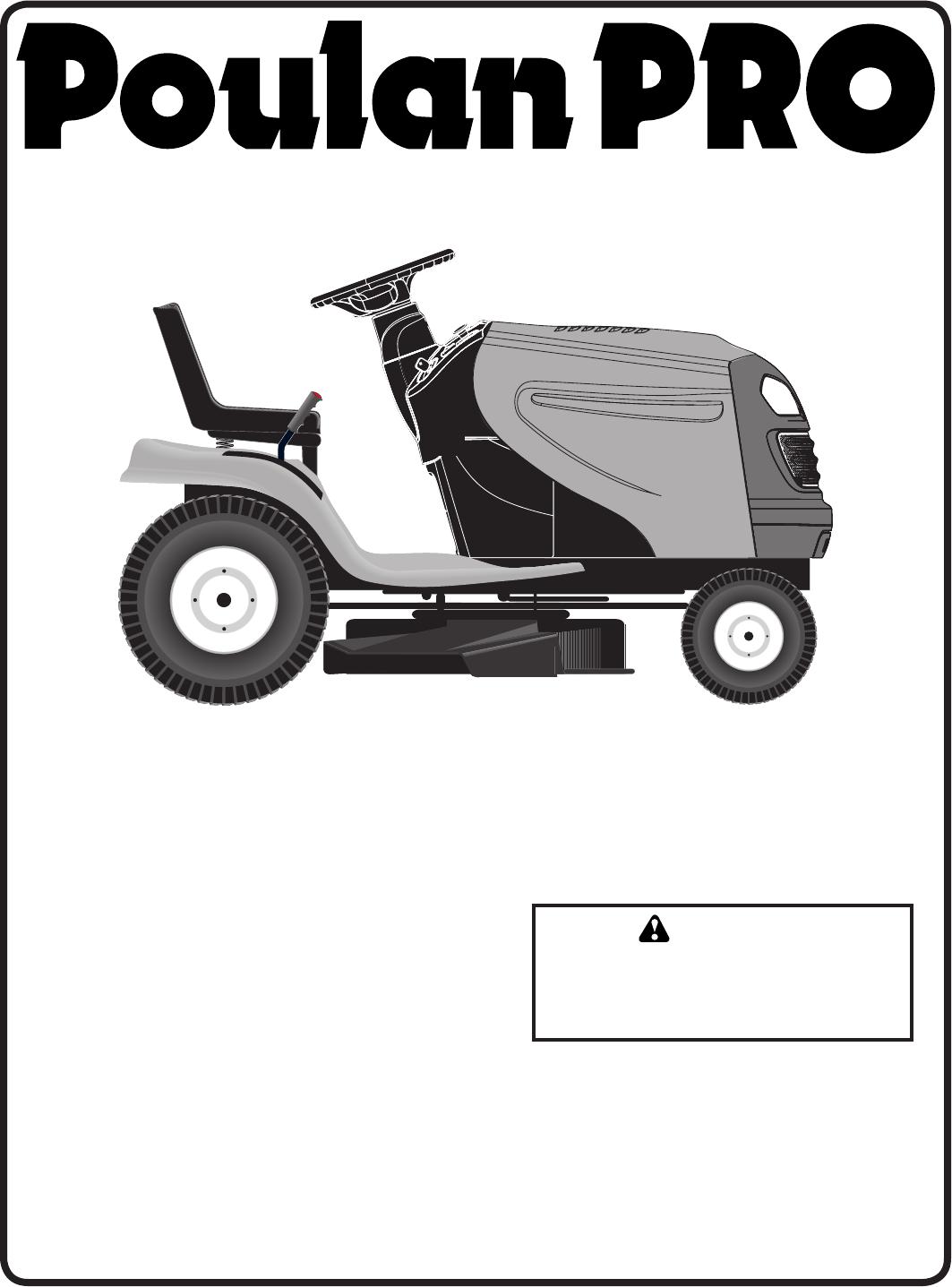 Poulan Lawn Mower PB20H46LT User Guide   ManualsOnline.com