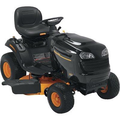 Buy Poulan Pro Lawn Tractor – 20 HP, 46in. Deck, Model# PB20H46LT