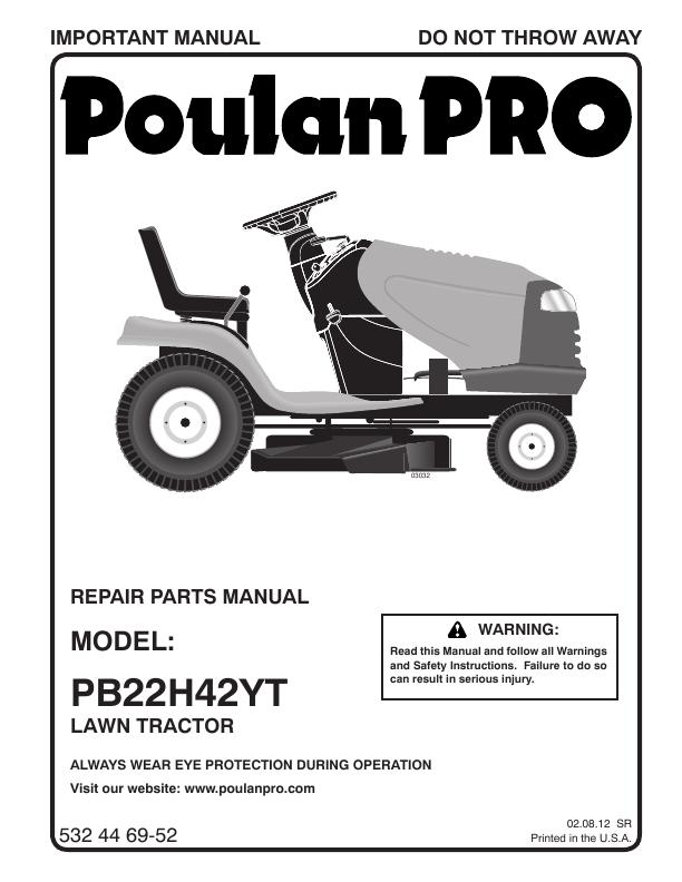 poulan pro poulanpro pb22h42yt poulan pro poulanpro pb22h42yt lawn ...