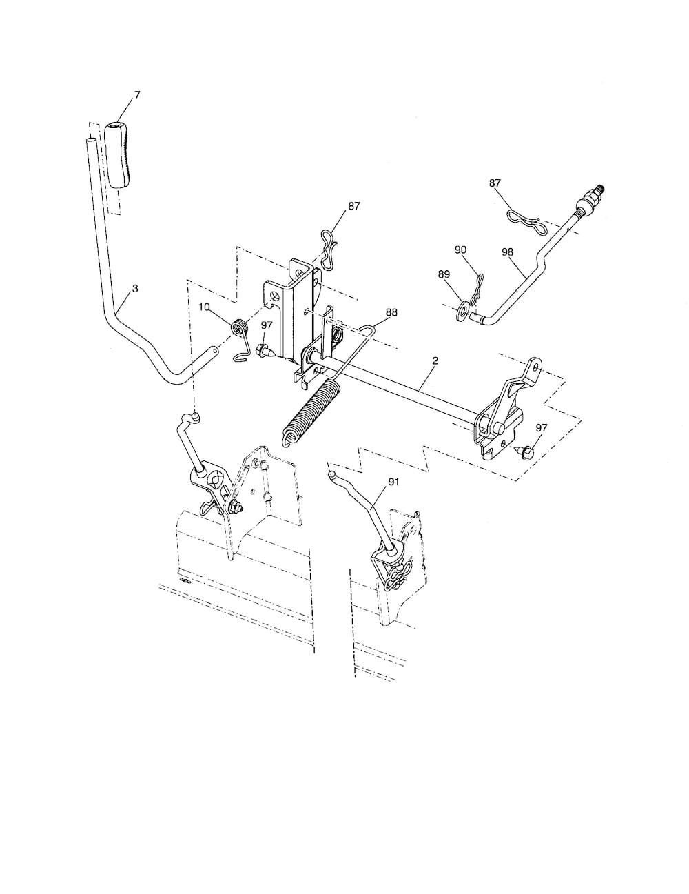 ... and Parts List for POULAN Riding-Mower-Tractor-Parts model # PB22H42YT