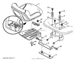 Poulan PBLGT26H54 - 96042014001 (2012-08) Parts Diagram for DRIVE