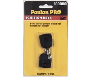503696 Poulan PP60005 Replacement Ignition Key 2 Pack Ayp Poulan ...